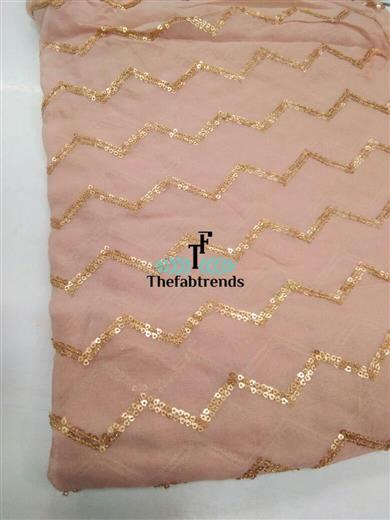 Georgette Embroidery - The FabTrends