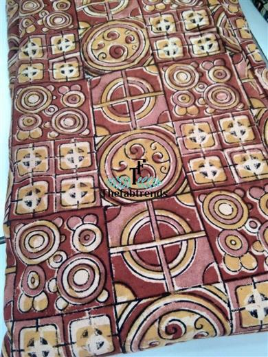 Kalamkari Blockprint - The FabTrends