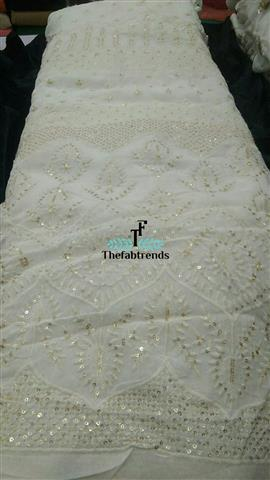 Georgette Dyeble Threadwork - The FabTrends