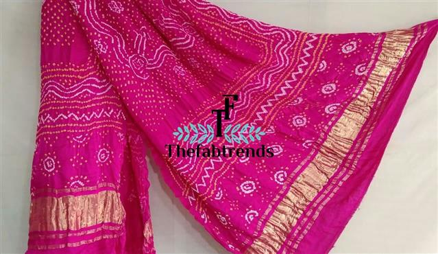 Dupatta Gajisilk Bandhej - The FabTrends