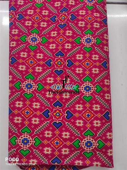 cotton print patola - The FabTrends