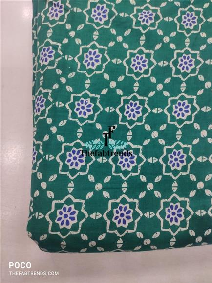 cotton print cambric - The FabTrends
