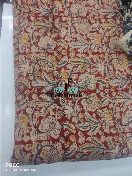 kalamkari block print - The FabTrends