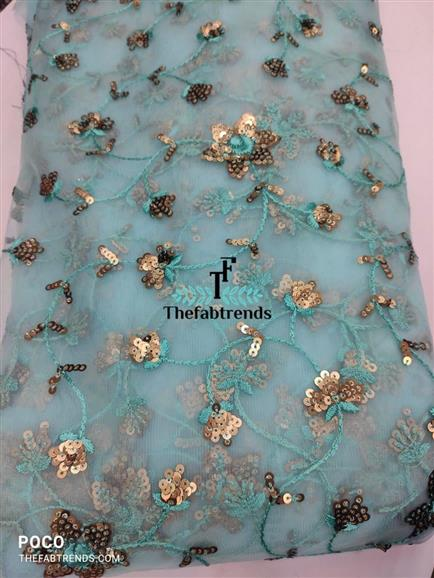 Net embroidery - The FabTrends