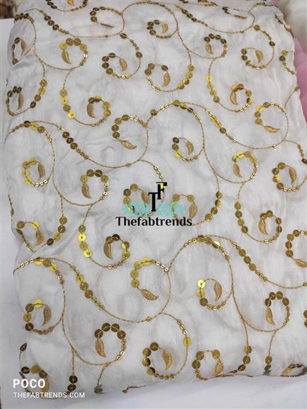 Upada silk jaal embroidery - The FabTrends