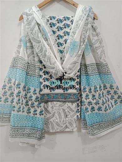 suits cotton blockprint(PH) - The FabTrends