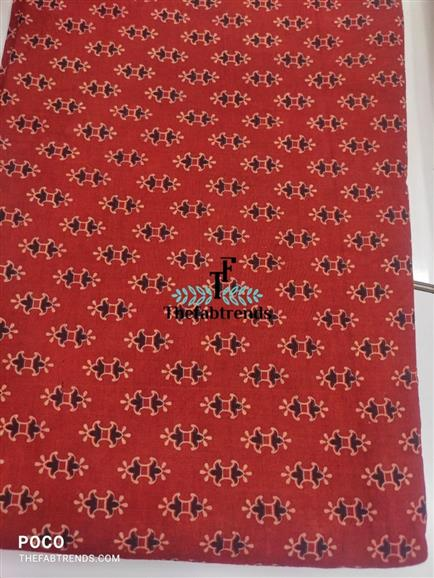 Gamthi block print - The FabTrends