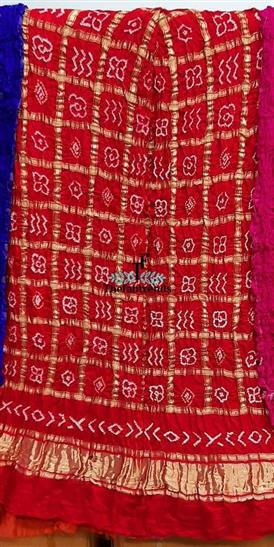 Gharchola chex dupatta 2.5mtr  - The FabTrends