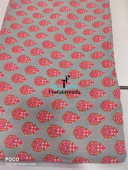 Cotton print - The FabTrends