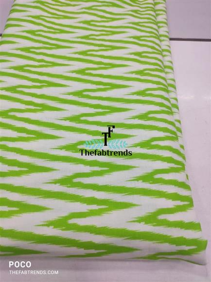 cotton flax digital print - The FabTrends