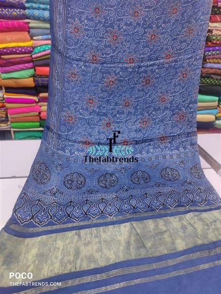 Modal ajark dupatta lgdi patta - The FabTrends