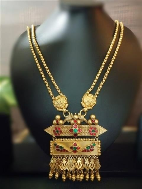 Jaisalmeri Gold Plated Necklace - Missori