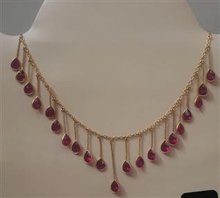 Pink Stone Necklace - Missori