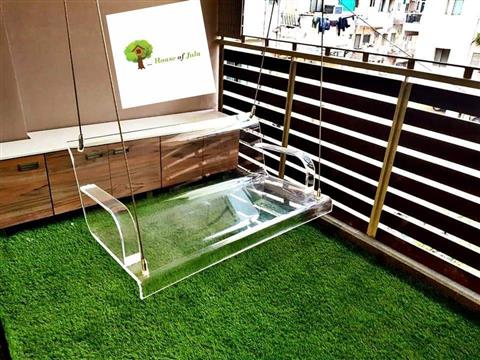 ACRYLIC SWING FOR BALCONY & HOME - House Of Jula