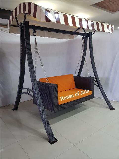 Garden Can Swing With Cushion  - House Of Jula