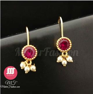 Traditional Bugadi Studded With Stones Earring Fancy _Online _MaherFashion_Mumbai - Maher Fashion(Fashiontrends)