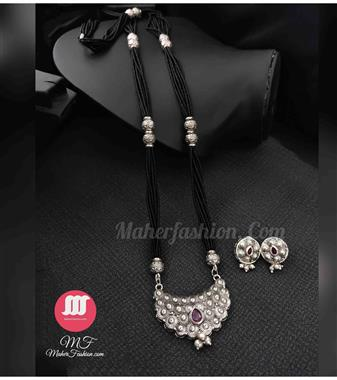 oxidise  Mangalsutra_MaherFashion_(Mumbai) - Maher Fashion(Fashiontrends)