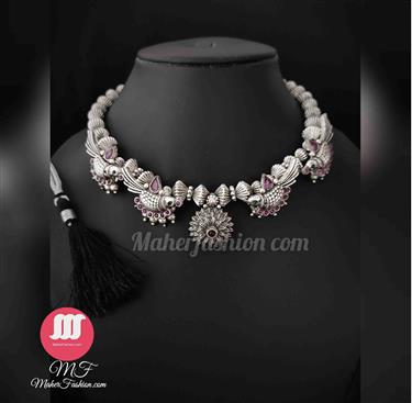 Antique peacock style Necklace - Maher Fashion(Fashiontrends)