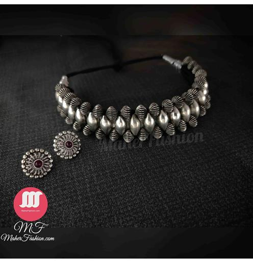 Atique Traditional Necklace - Maher Fashion(Fashiontrends)