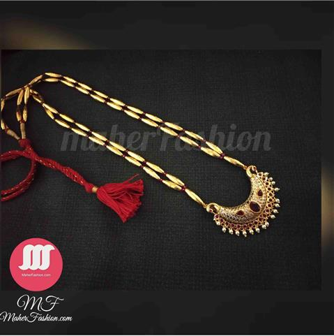 2 Layer Bormala With Tanmani Necklace - Maher Fashion(Fashiontrends)