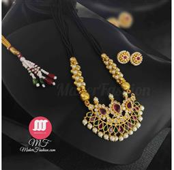 Peshwai Short Latest Mangalsutra Designs Only Gold _Online _Maherfashion_Mumbai - Maher Fashion(Fashiontrends)