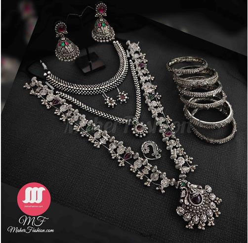 Oxidise Bridal Combo Set - Maher Fashion(Fashiontrends)
