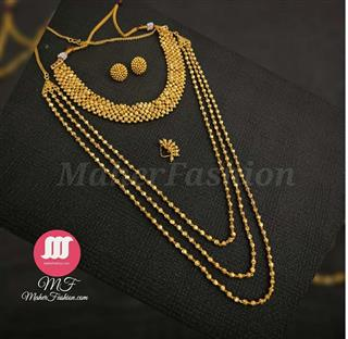 Simple Golden Combo Set - Maher Fashion(Fashiontrends)