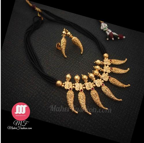 Ethenic Latest Mangalsutra Designs Only GoldEthenic Latest Mangalsutra Designs Only Gold_Online _MaherFashion_Mumbai - Maher Fashion(Fashiontrends)
