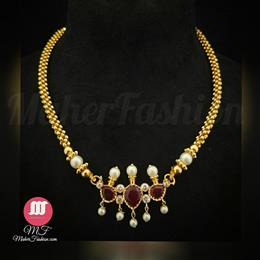 Shahi Golden Thushi - Maher Fashion(Fashiontrends)