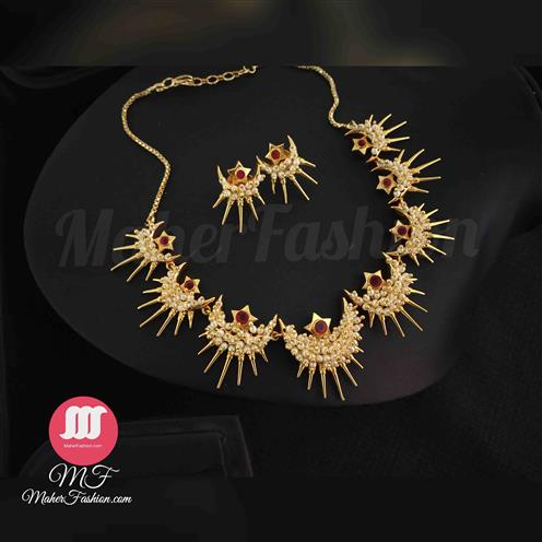 Antique Pearl Necklace - Maher Fashion(Fashiontrends)