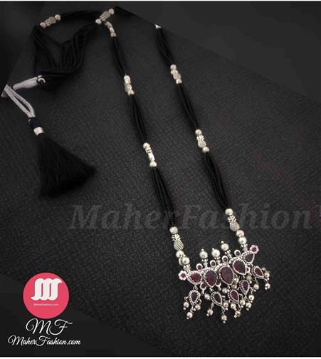 Fancy oxide mangalsutra design _Online _MaherFashion_Mumbai - Maher Fashion(Fashiontrends)