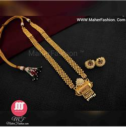 Traditional  Design Necklace  _Online _MaherFashion_Mumbai - Maher Fashion(Fashiontrends)