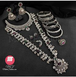 Oxidise Kolapuri Saaj  Set _Online _MaherFashion_Mumbai - Maher Fashion(Fashiontrends)