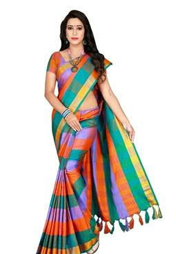Women's Sensational Saree - LeZaa