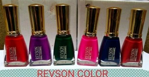 Premium Glossy Nail Polish(Pack Of 6) - LeZaa