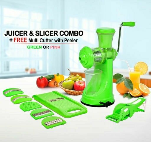 Juicer And Slicer Combo (Free Multi Cutter With Peeler) - LeZaa