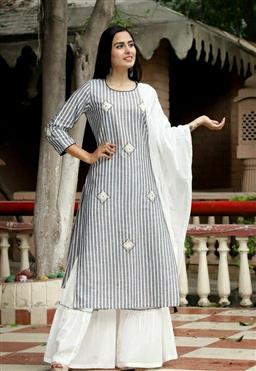 Beautiful Women's Kurti With Sharara - LeZaa