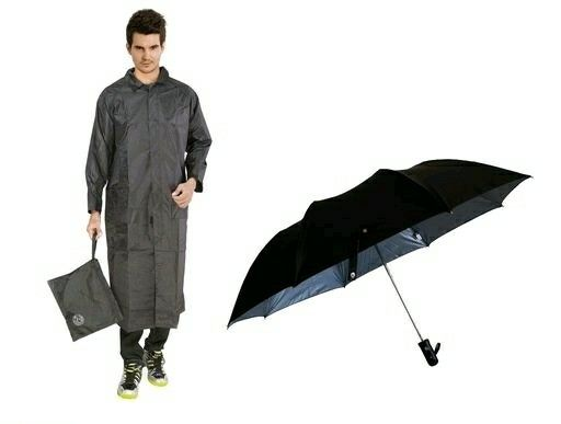 Casual Raincoat (Free 1 Umbrella) - LeZaa