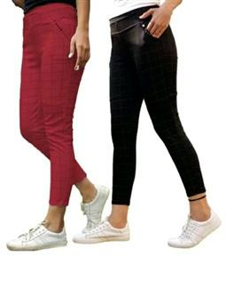 Trendy Women's Trousers (Pack Of 2) - LeZaa