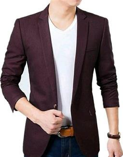Voguish Men's Stylish Blazer - LeZaa