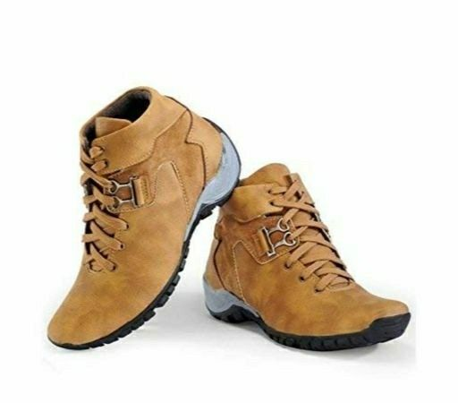 Stylish Men's Casual Boots - LeZaa