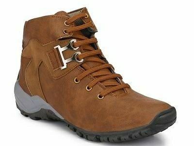 Solid Boots For Men - LeZaa