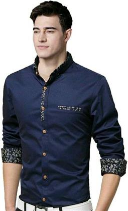 Stylish Men's Cotton Shirt - LeZaa