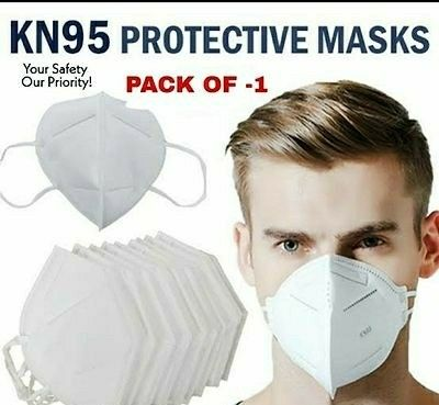 N95 Anti Pollution Mask And Respirator (Pack Of 1) - LeZaa
