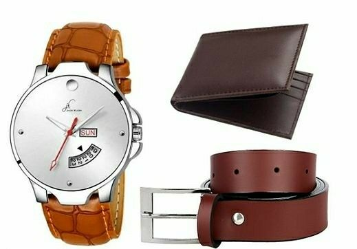 Quality Men's Watches With Belt & Wallet - LeZaa