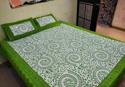 Attractive Cotton Printed Double Bedsheets  - LeZaa Fashion