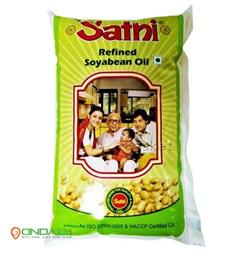 Sathi Refined - Soyabean Oil, 1 ltr Pouch - Ondaily.in