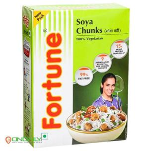 Fortune Soya Chunks 200 Gm - Ondaily.in