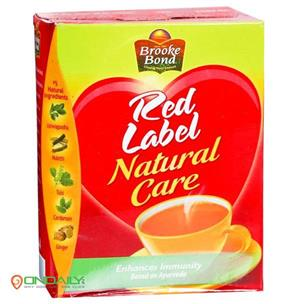 Brooke Bond Red Label Natural Care Tea 250g - Ondaily.in