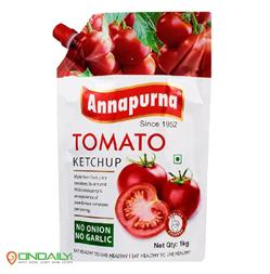 Annapurna Tomato Ketchup Spout Pack 1kg - Ondaily.in